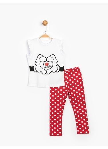 Minnie Mouse 2 li Takım Beyaz